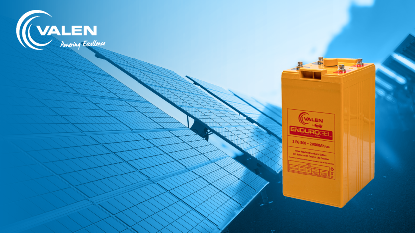 Whats the advantage of gel batteries solar