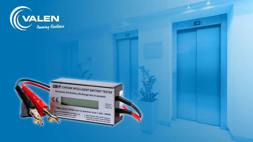Which Battery Tester is correct for Testing Lift & Elevator Batteries