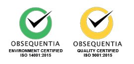 Obsequentia Quality and Environment Certified